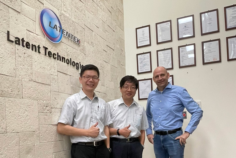 感謝PVA Tepla新加坡總經理拜訪磊拓科技